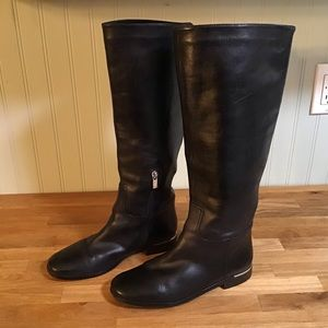 Marc Fisher Leather Riding/Moto Boots